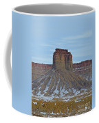 Winter Banded Butte Coffee Mug