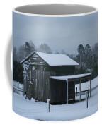 Winter Barn Coffee Mug by Nelson Watkins