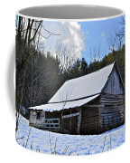 Winter Barn Coffee Mug by Susan Leggett