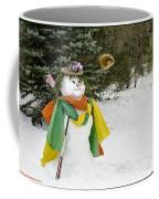 Winter Baseball Ball Gown  Coffee Mug