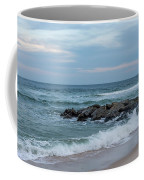 Winter Beach Day Lavallette New Jersey Coffee Mug