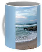 Winter Beach Lavallette New Jersey  Coffee Mug
