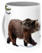 Winter Bear Walk Coffee Mug