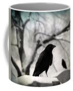 Winter Blackbirds Coffee Mug