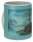 Winter Blue Coffee Mug