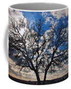 Winter Blue Skys Coffee Mug