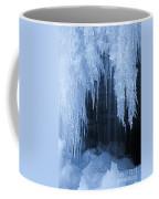 Winter Blues - Frozen Waterfall Detail Coffee Mug