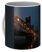 Winter Bridge In Fog 2 Coffee Mug