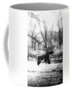 Winter Butterflies Coffee Mug