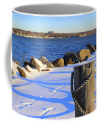 Winter By The Bay Coffee Mug