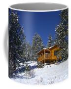 Winter Cabin Coffee Mug