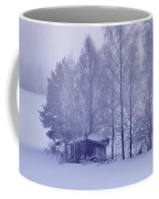 Winter Cabin In The Woods Coffee Mug