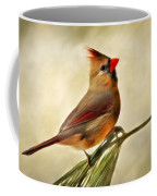 Winter Cardinal Coffee Mug