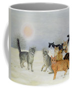 Winter Cats Coffee Mug by Ditz