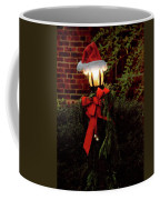 Winter - Christmas - It's Going To Be A Cold Night Coffee Mug by Mike Savad