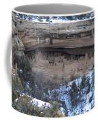 Winter Cliff Palace Coffee Mug