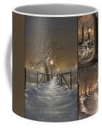 Winter Collage Coffee Mug