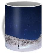 Winter Constellations Coffee Mug
