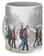 Winter Crossing Coffee Mug