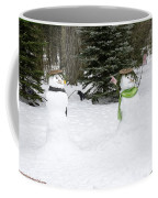 Winter Dance Of The Snow People Coffee Mug