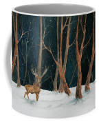 Winter Deer Coffee Mug