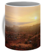 Winter Desert Glow Coffee Mug