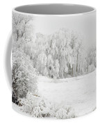 Winter Doe Coffee Mug by Mary Jo Allen