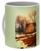 Winter Farhouse Coffee Mug