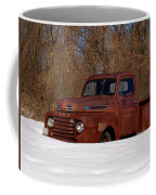 Winter Ford Truck 3 Coffee Mug