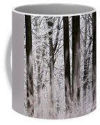 Winter Forest 1 Coffee Mug by Heiko Koehrer-Wagner