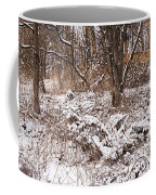 Winter Forest Panorama Coffee Mug