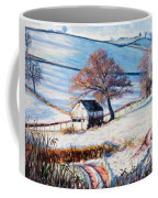 Winter Frost Coffee Mug by Tilly Willis