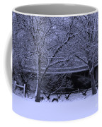 Winter Geese Retreat Coffee Mug