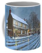 Winter Glow Parish Room Tickhill Yorkshire Coffee Mug