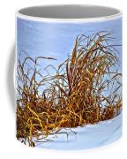 Winter Grasses II Coffee Mug