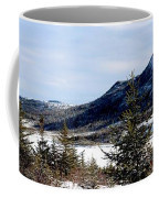 Winter Has Arrived In The Valley Coffee Mug