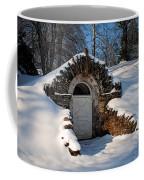 Winter Hobbit Hole Coffee Mug