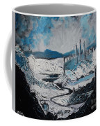 Winter In Ancient Ruins Coffee Mug