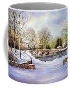 Winter In Ashford Coffee Mug by Andrew Read