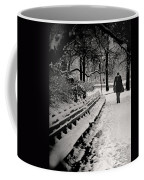 Winter In Central Park Coffee Mug