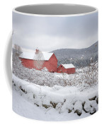 Winter In Connecticut Coffee Mug by Bill Wakeley