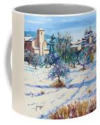 Winter In Lourmarin Coffee Mug