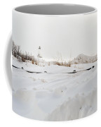 Winter In Ludington Coffee Mug