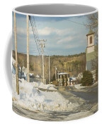 Winter In Round Pond Maine Coffee Mug