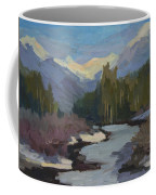 Winter In The Cascade Mountains Coffee Mug