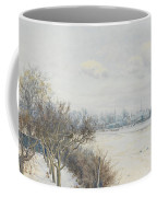 Winter In The Ouse Valley Coffee Mug