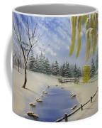 Winter In The Park Coffee Mug