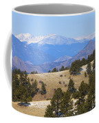 Winter In The Pike National Forest Coffee Mug
