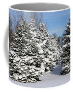 Winter In The Pines Coffee Mug