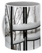 Winter Ironwork Coffee Mug
